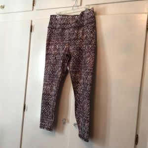Fabletics serpentine yoga pants
